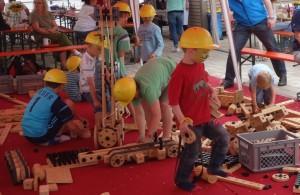 10jähriges Jubiläum Montessori Kindergarten Frasdorf - Bauklötze