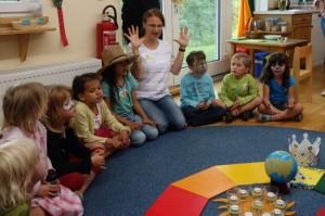 10jähriges Jubiläum Montessori Kindergarten Frasdorf - Geburtstagskreis