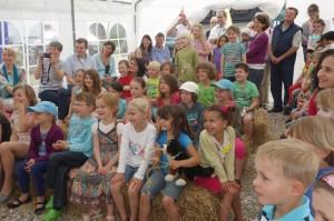 10jähriges Jubiläum Montessori Kindergarten Frasdorf - Zuschauer