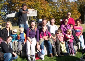 Ausflug Hofalm vom Montessori Kindergarten Frasdorf