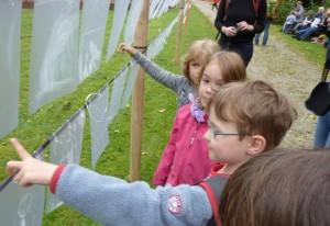 Ausstellung Liebensbriefe1 - Montessori Kindergarten Frasdorf