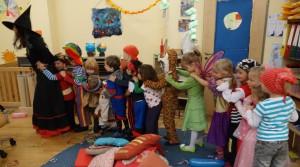 Fasching 2014 im Montessori Kindergarten Frasdorf