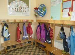 Garderobe Montessori Kindergarten Frasdorf