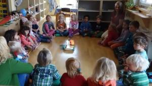 Morgenkreis im Montessori Kindergarten Frasdorf