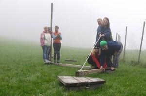 Team-Tag 2 vom Montessori Kindergarten Frasdorf