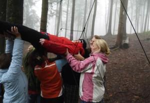 Team-Tag 3 vom Montessori Kindergarten Frasdorf